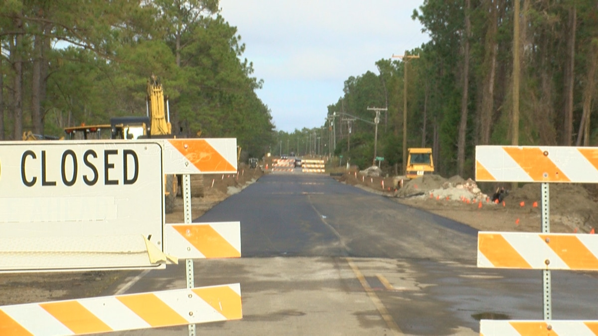 East Boiling Spring Road will open Monday, but construction planned again in March