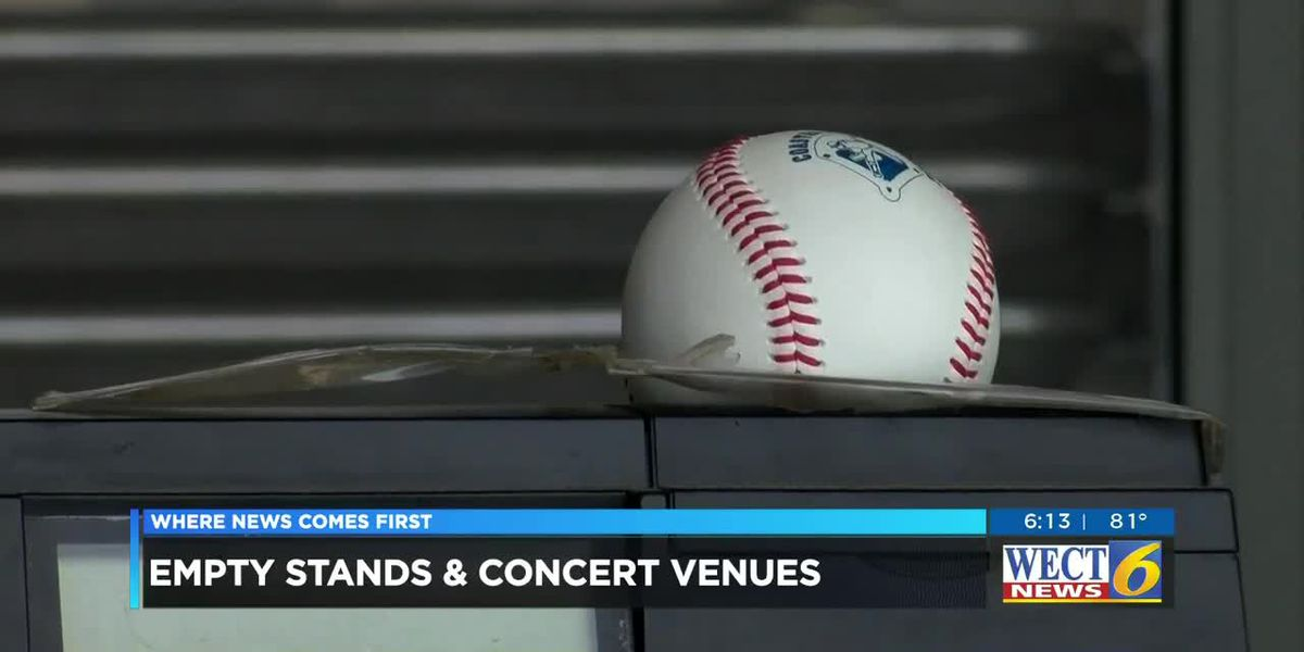 Empty stands and concert venues this year
