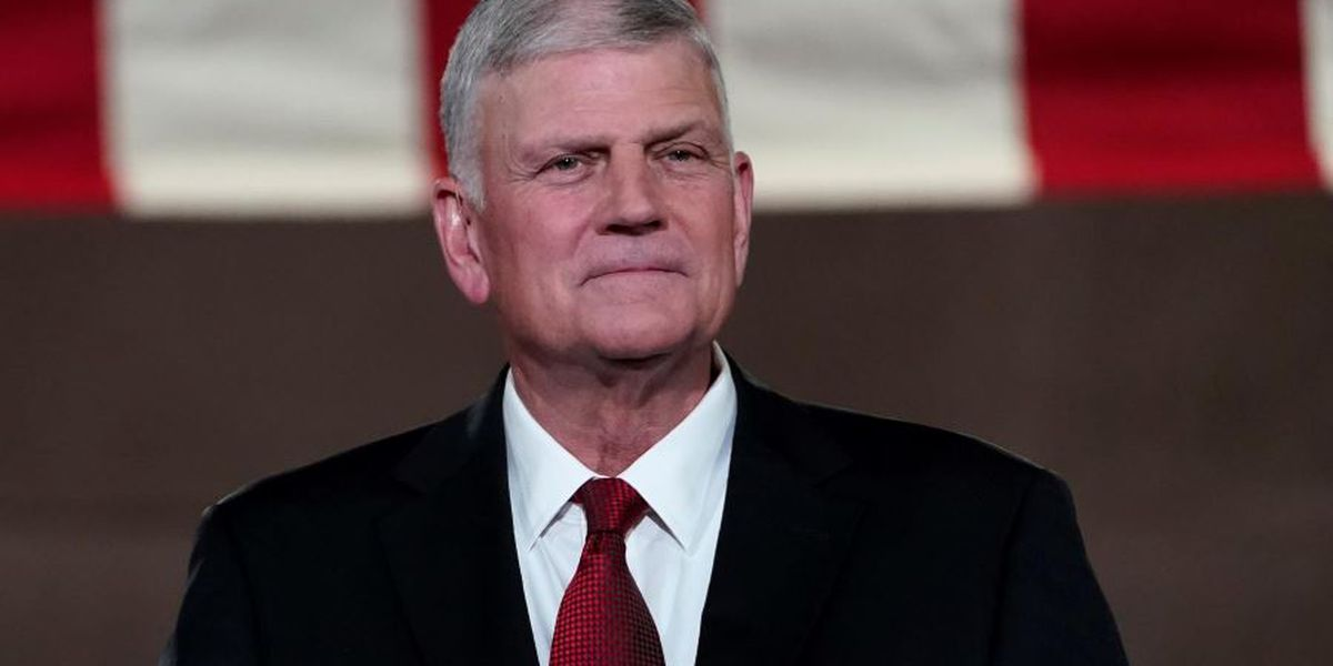 'Let us continue to pray': Franklin Graham offers support after President Trump tests positive for COVID-19