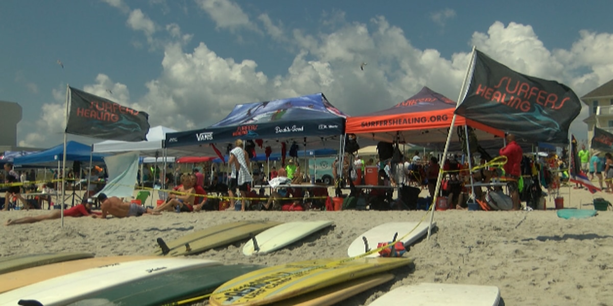 Children with autism enjoy fun-filled day at Surfers Healing Camp