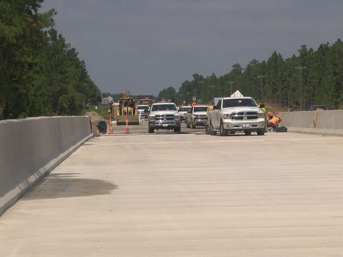 DOT to shift southbound traffic onto new portion of U.S. 421
