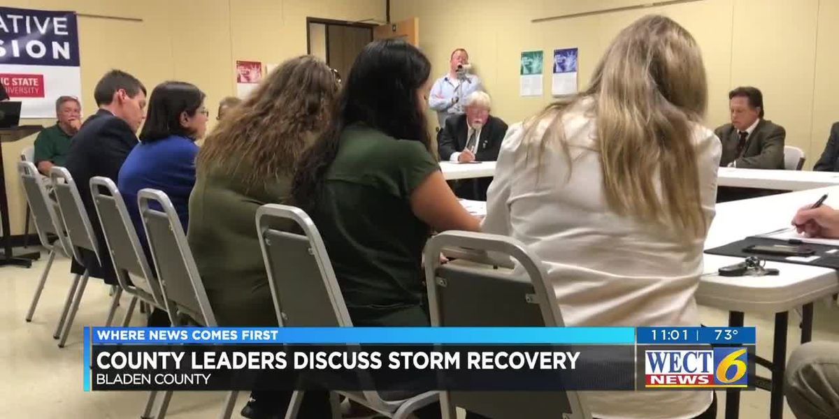 'I've talked directly to the White House': Bladen County leaders working to get FEMA resources on th