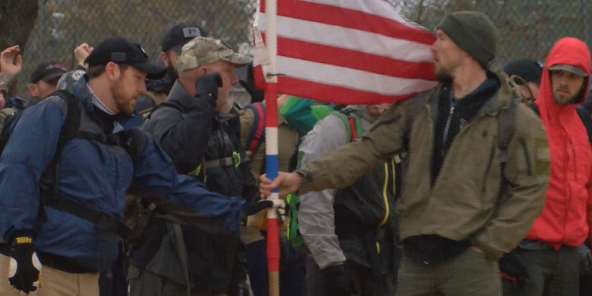 GORUCK march in remembrance of Pearl Harbor