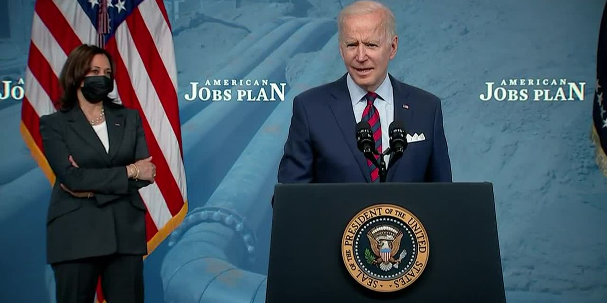 Biden takes infrastructure push to Capitol Hill