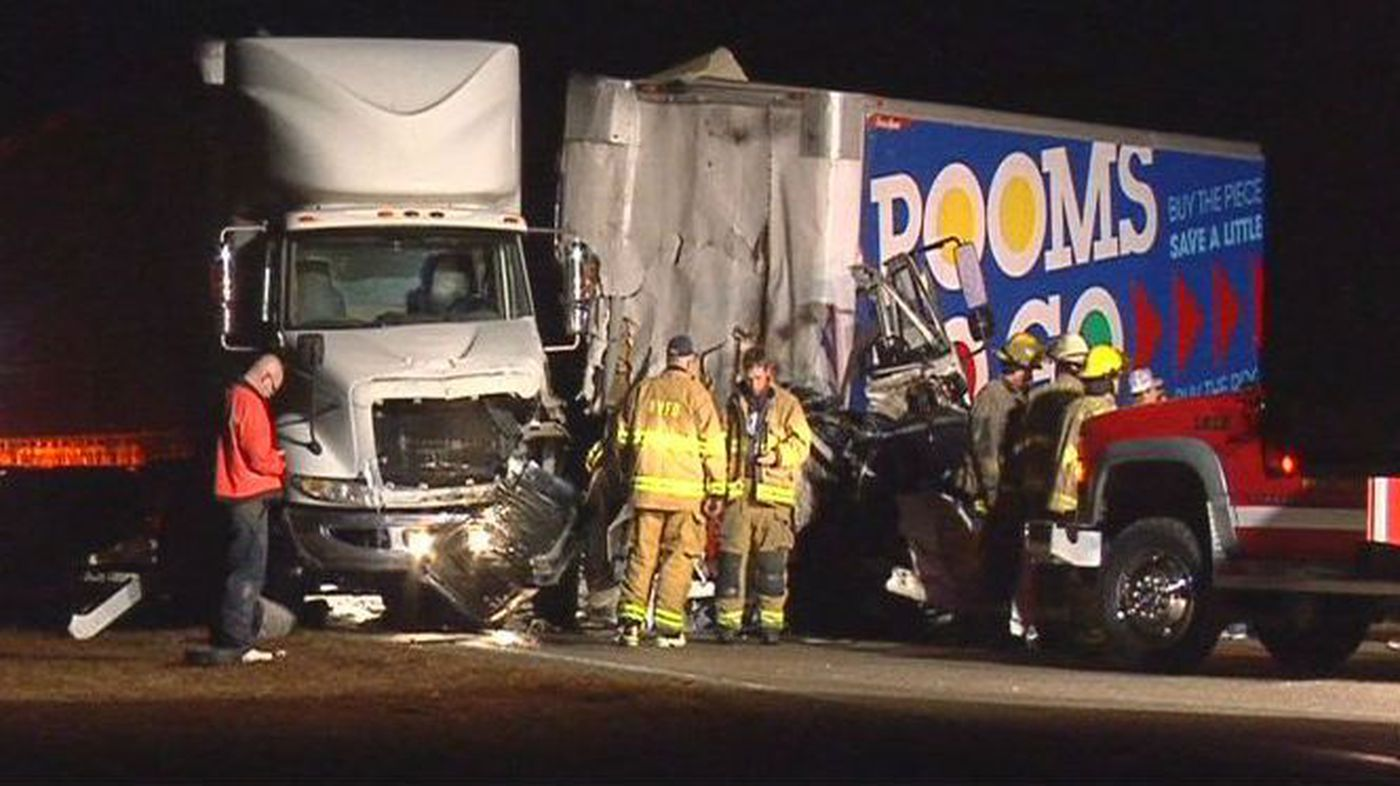FATAL ACCIDENT: Victim identified in tractor trailer wreck near Lake