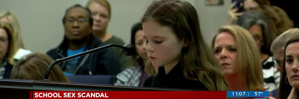 'I don't understand how you can be a pedophile and keep your job': 12-year old asks NHC School Board