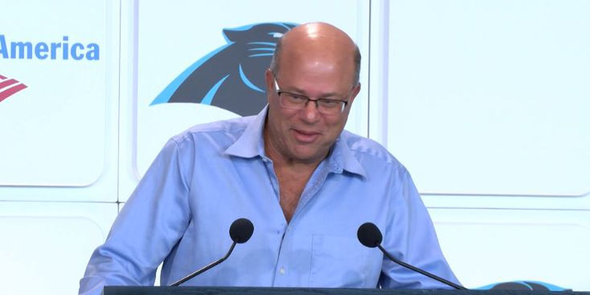 Tepper says no decision yet on future of QB Cam Newton
