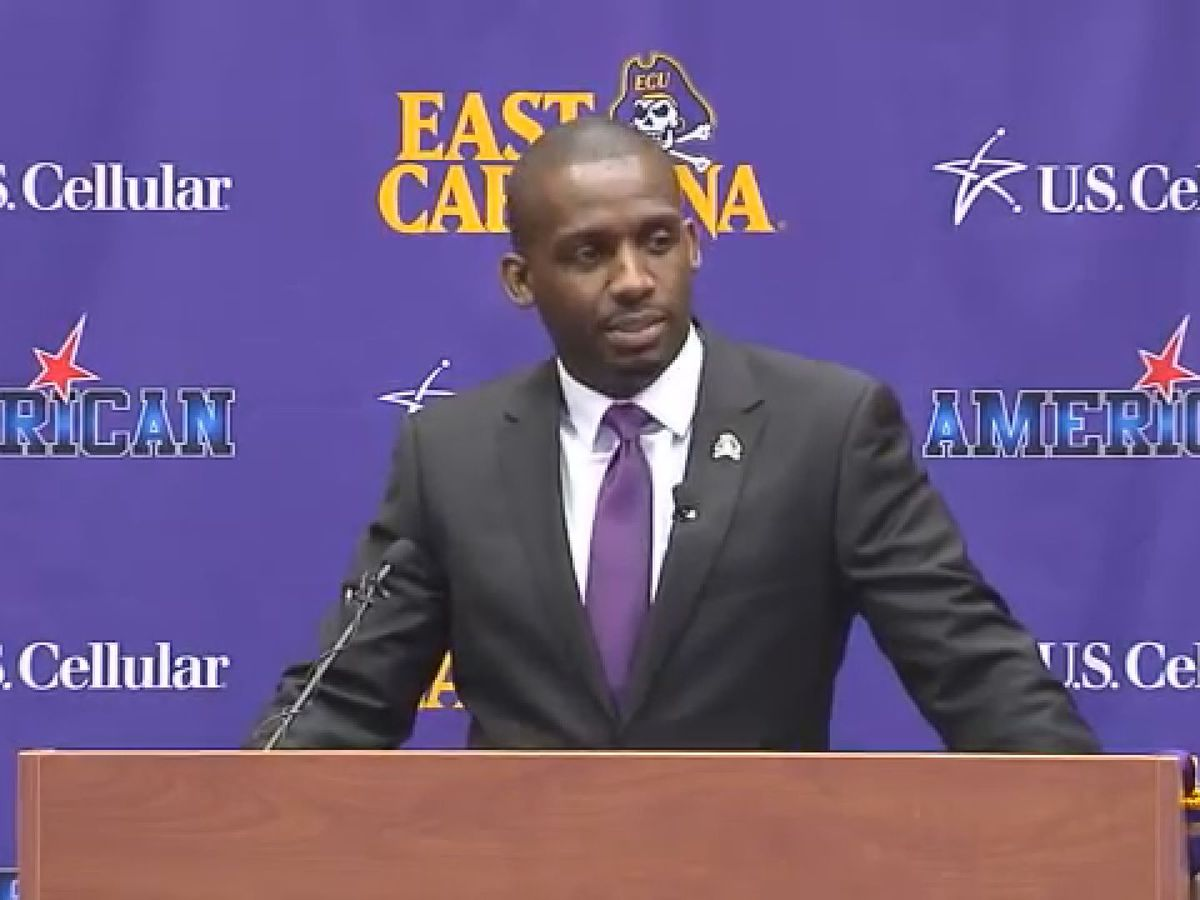 East Carolina fires football coach Scottie Montgomery