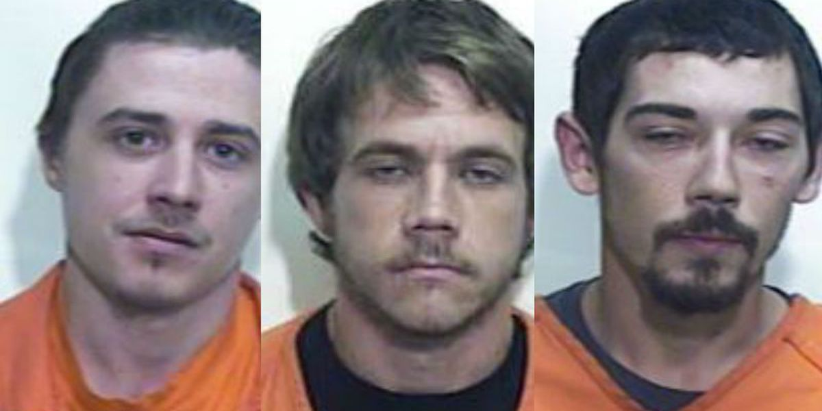 5 charged with rash of home burglaries in Columbus, Bladen counties