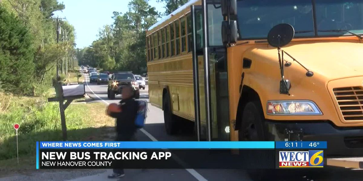 School bus tracking app now available for New Hanover County parents