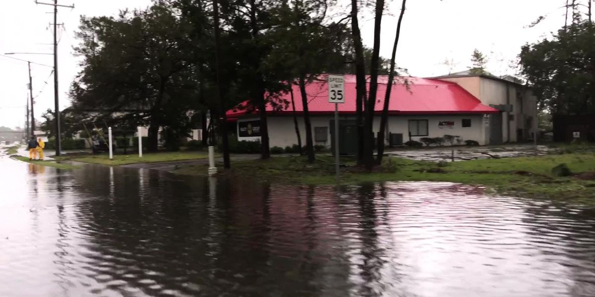 Hurricane Florence flooding