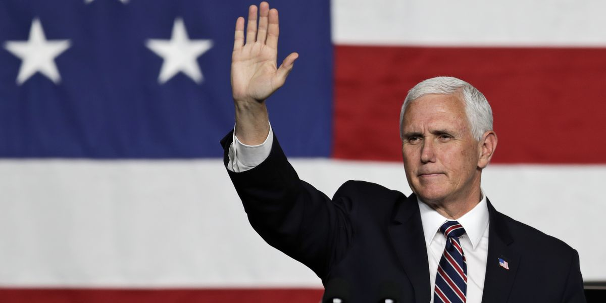 Pence cancels some political events because of virus spikes