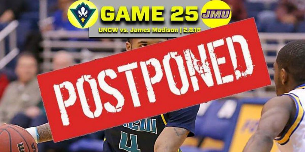Suspected case of the mumps forces UNCW game to be postponed