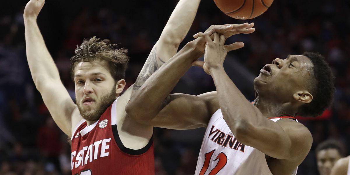 Guy, Salt help No. 2 Virginia beat NC State in ACC tourney