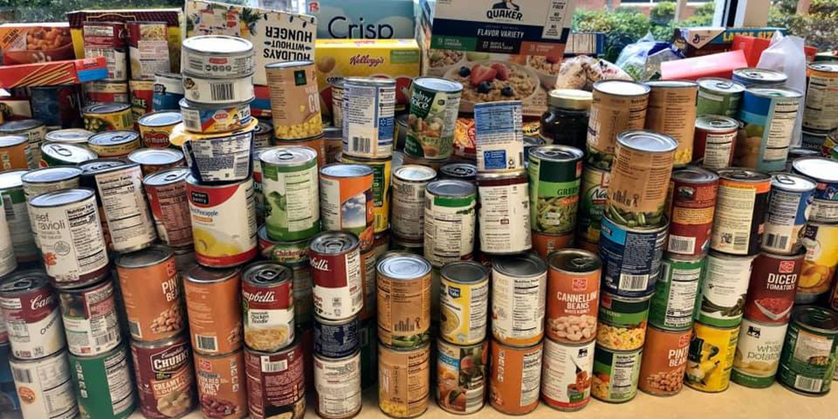 Annual Forest Hills Elementary community food drive happening today
