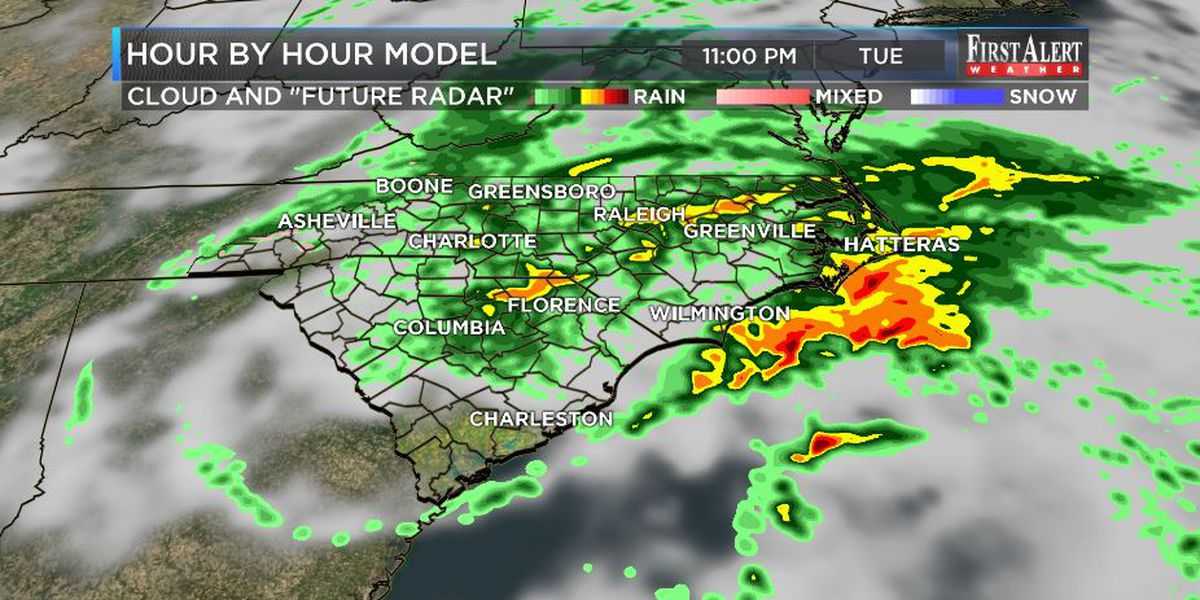 """First Alert Weather: """"perfect rain"""" and cooler temperatures coming"""