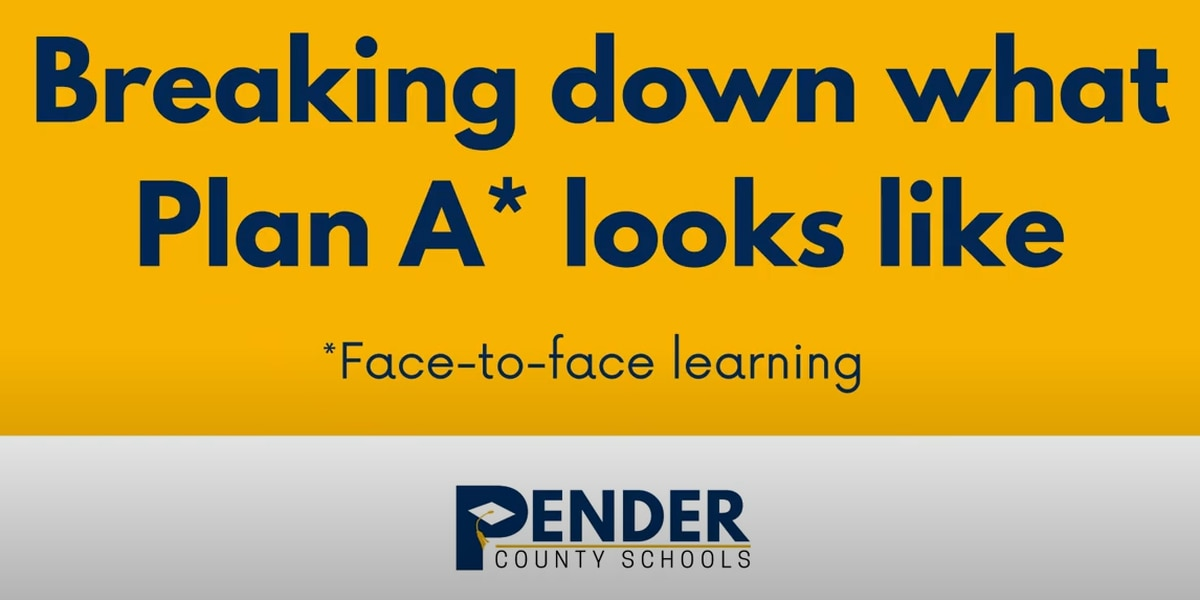 New video from Pender County Schools answers questions about Plan A