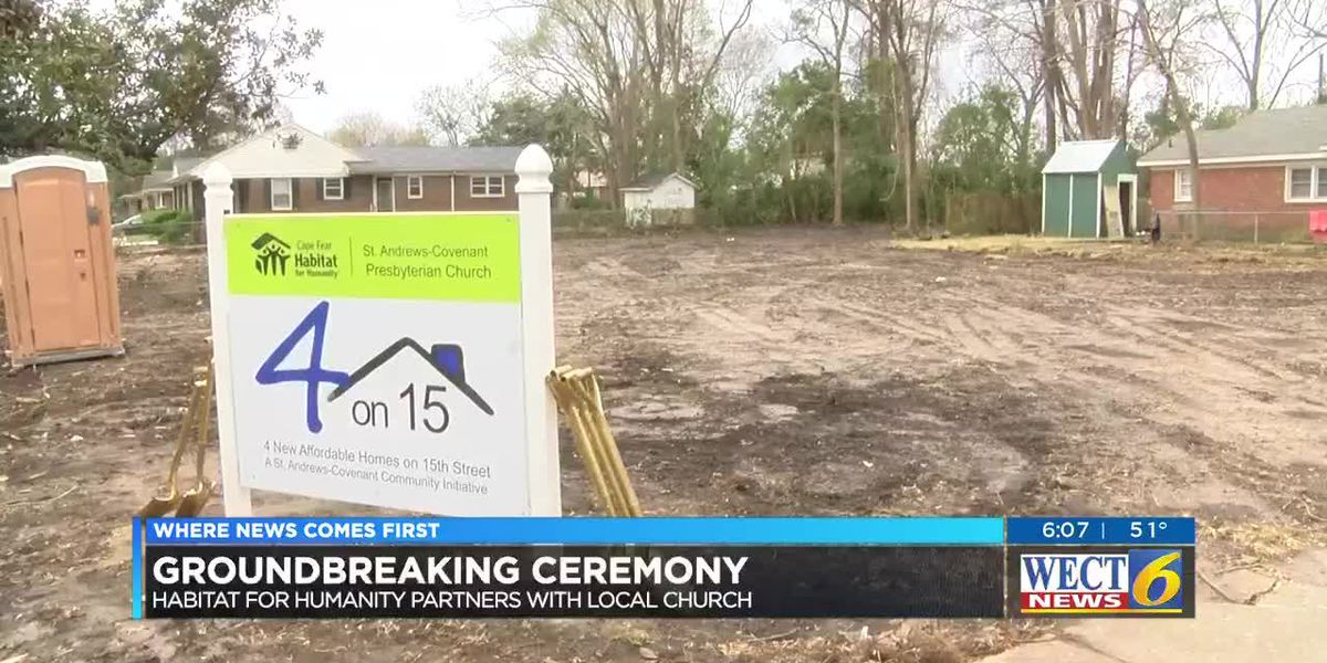 Cape Fear Habitat for Humanity partners with local church