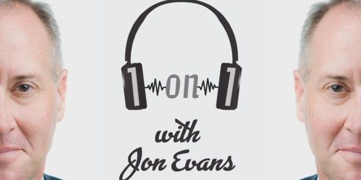 """Brandon Beane: UNCW grad follows his passion to become an NFL General Manager (""""1on1 with Jon Evans"""" podcast)"""