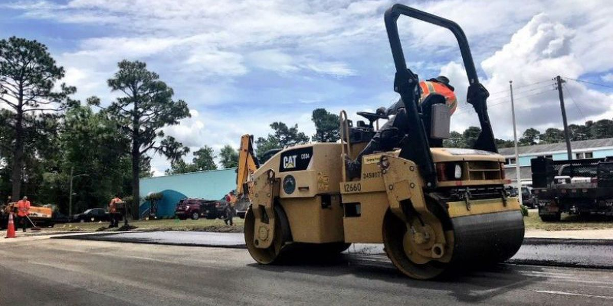 Portion of Raleigh St. to be repaved this week