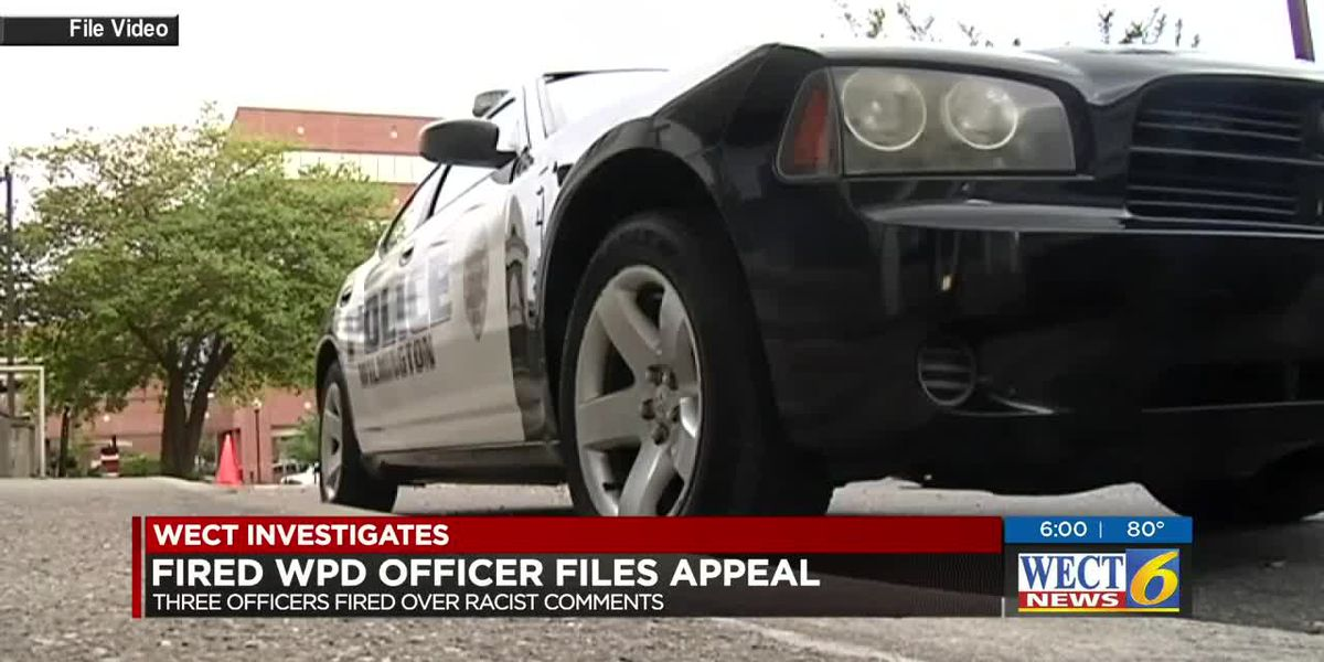 One of fired WPD officer files appeal
