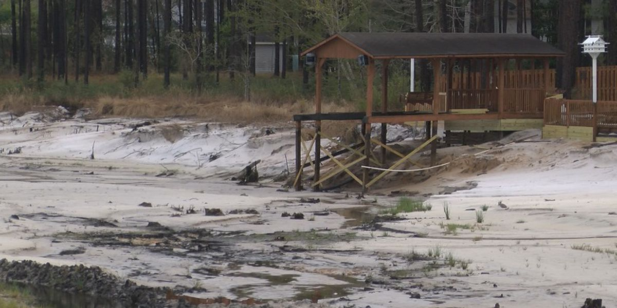 Boiling Spring Lakes won't see water in lakes until 2020