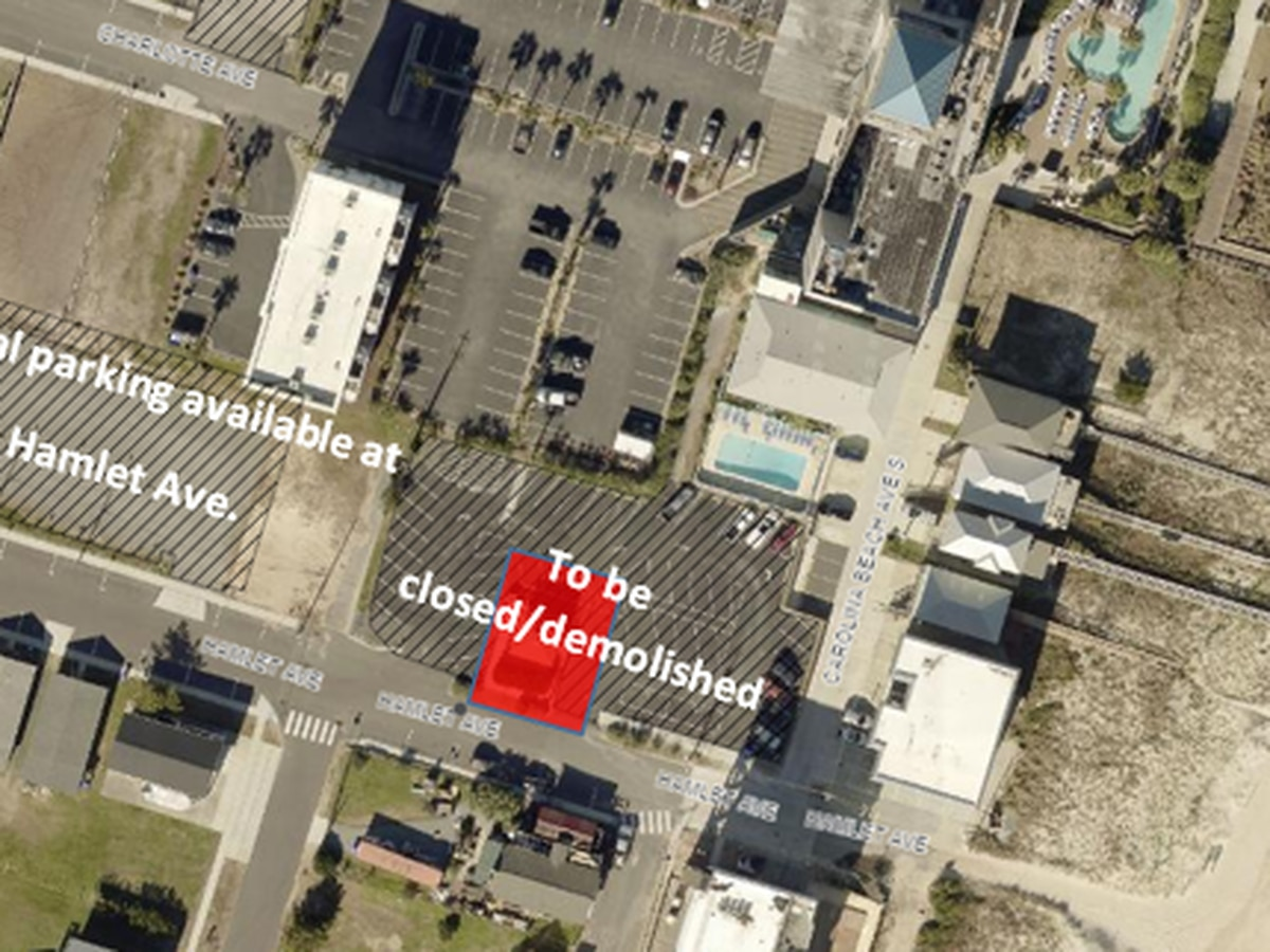 Carolina Beach making big changes on Hamlet Avenue
