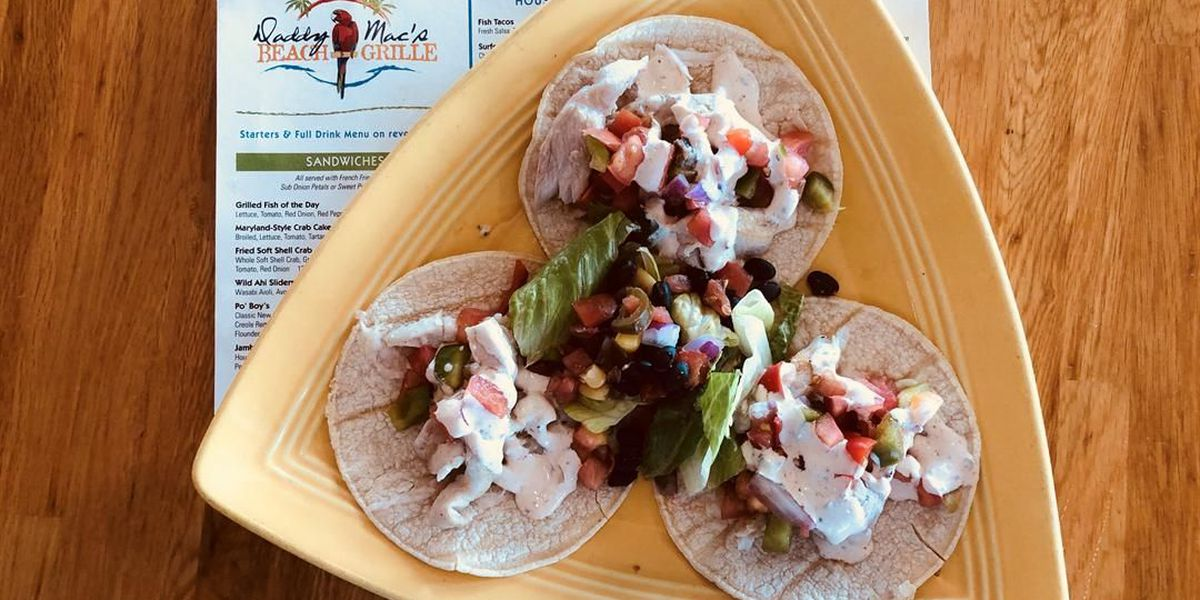 Bill's Grill: Daddy Mac's fish taco salsa