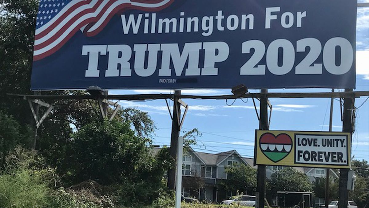 County GOP to take over Trump billboard in Wilmington that appears to violate federal law