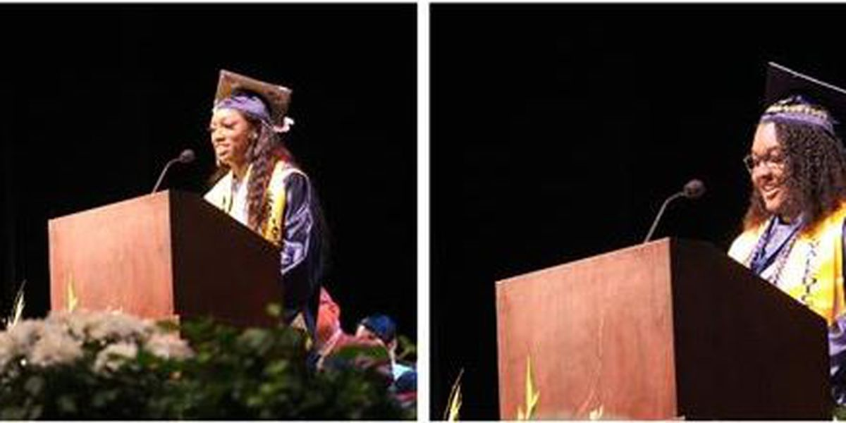 First cousins make history as valedictorian and salutatorian at North Brunswick High