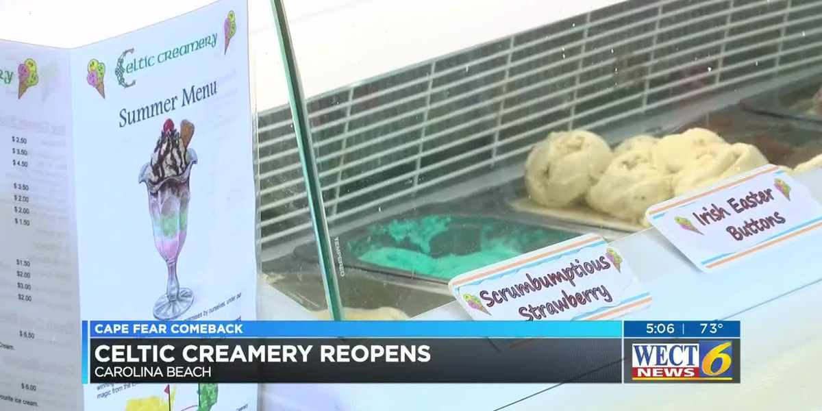 Irish delights are back; Celtic Creamery re-opens after Hurricane Florence