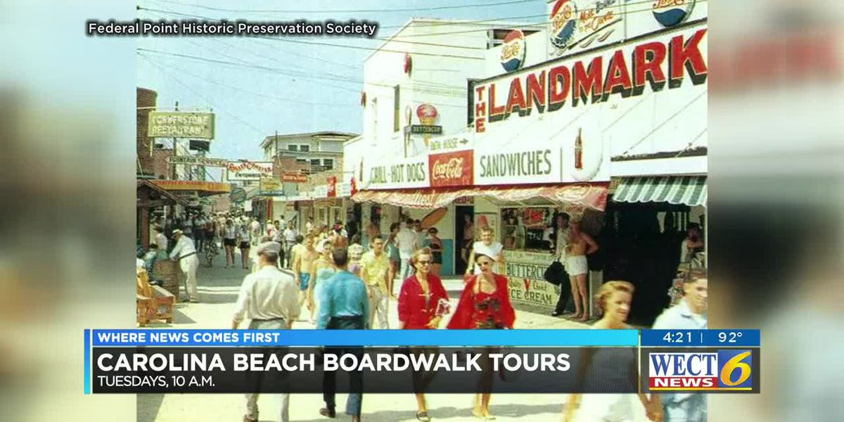 See the best of the Historic Carolina Beach Boardwalk past and present