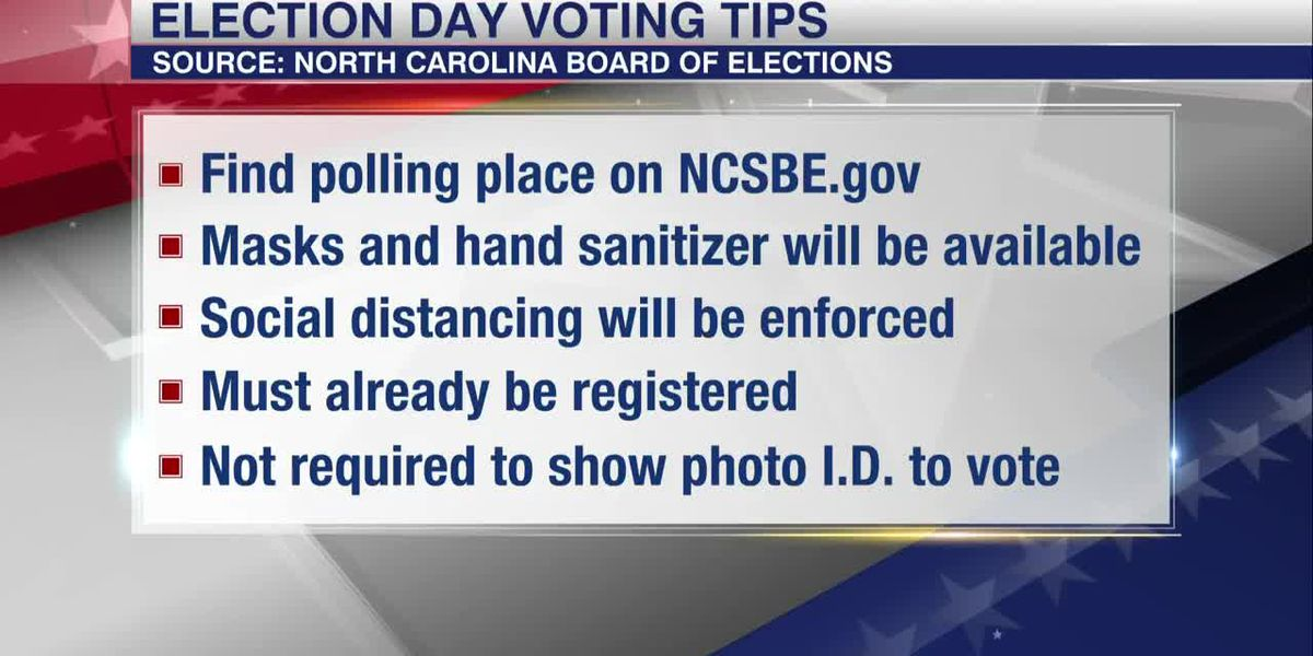 Check the location of your polling place for election day