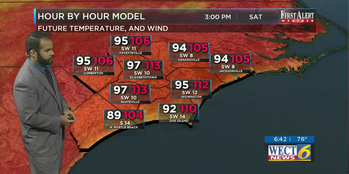 Your First Alert Forecast from Sat. morning, Jul. 20, 2019