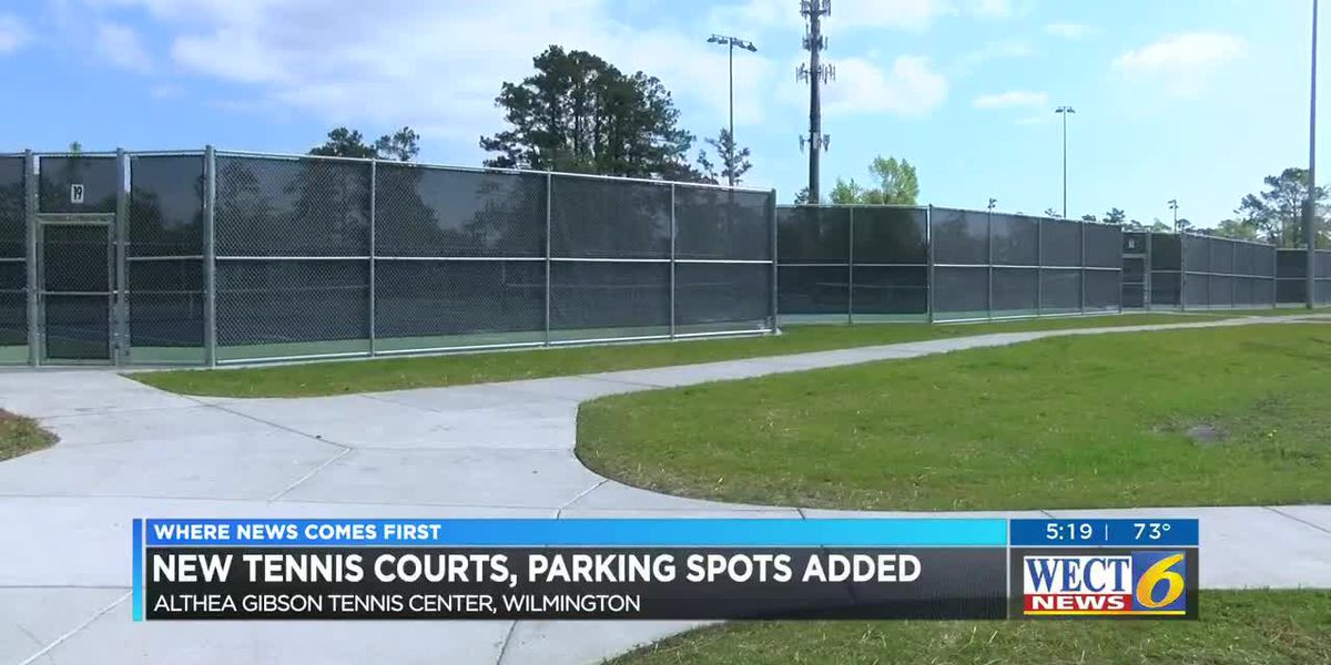 Empie Park holds ribbon cutting to show off new tennis courts