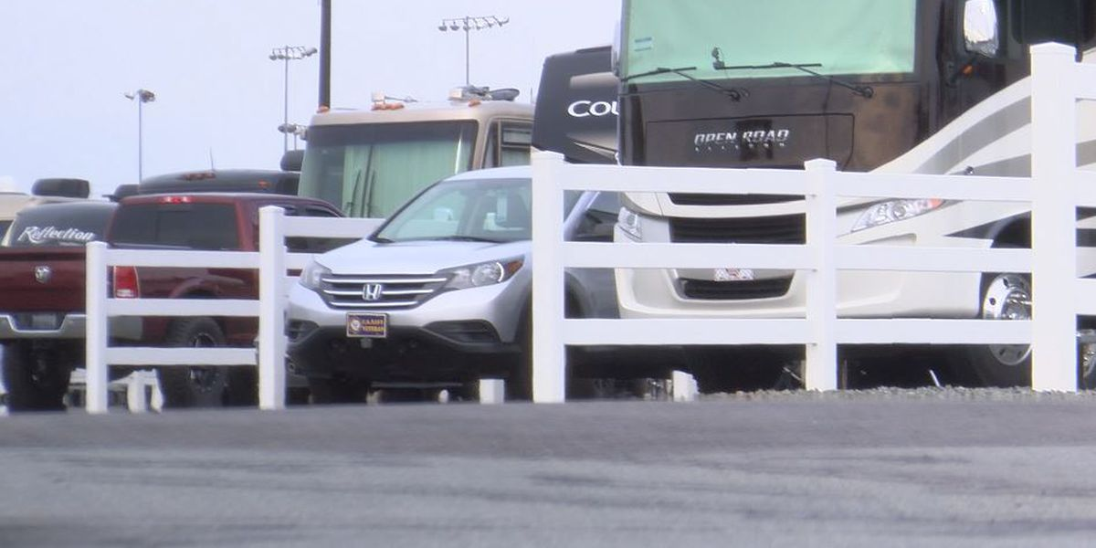 Charlotte Motor Speedway camp sites welcome coastal evacuees