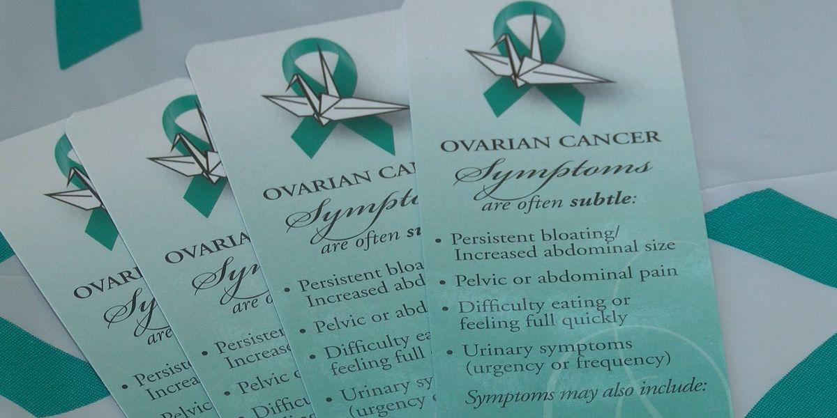 'If you are a woman or you love a woman, this is something you should care about': Raising awareness on World Ovarian Cancer Day