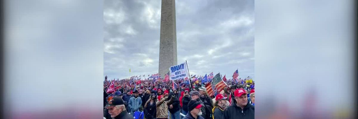 Local Trump supporter attended protest in DC
