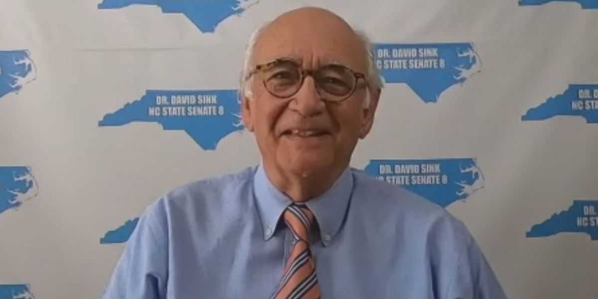 David Sink is the democratic nominee running for the District 8 seat in the NC Senate