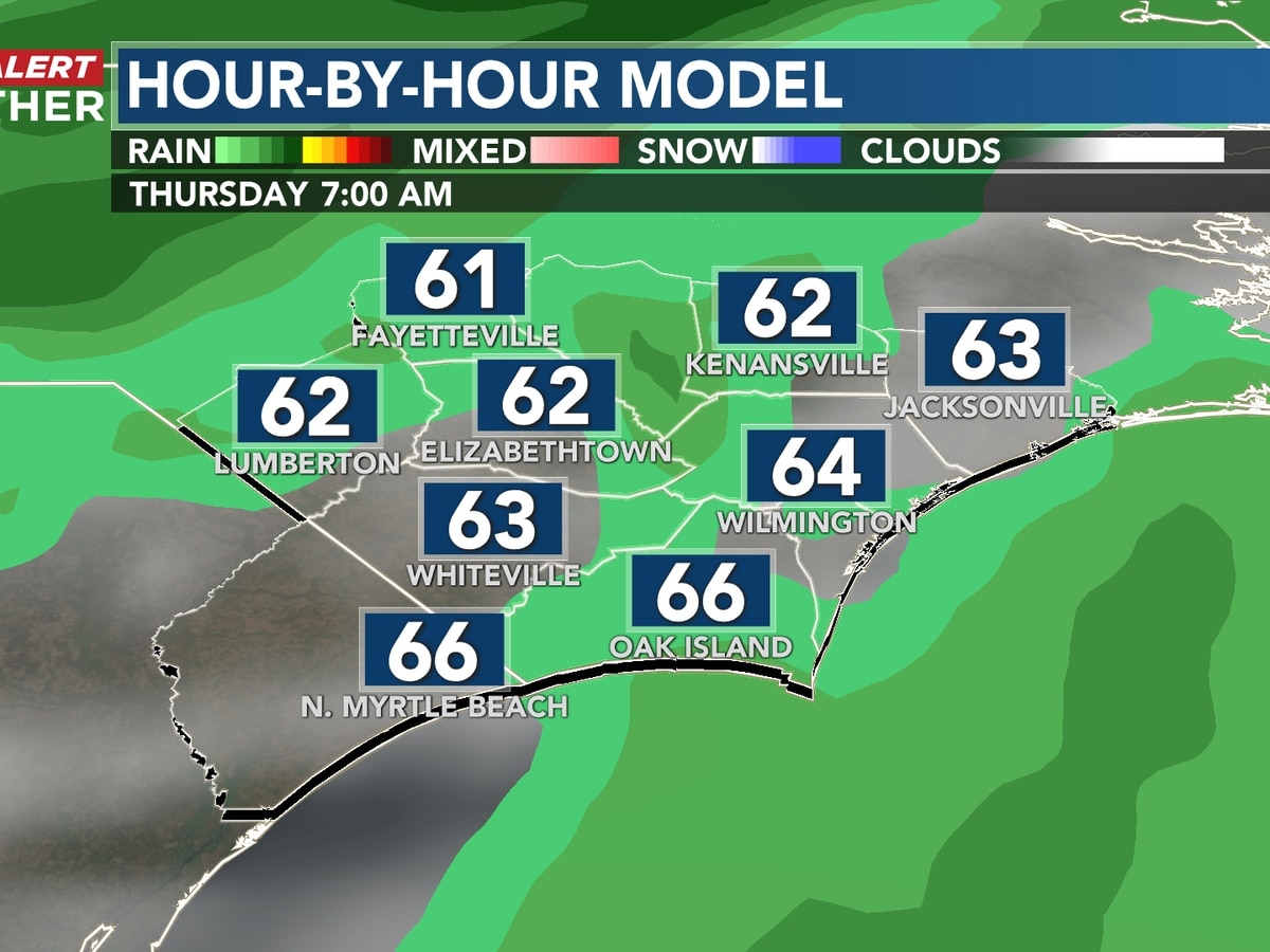 First Alert Forecast: a warming trend with shower chances headed into Thanksgiving