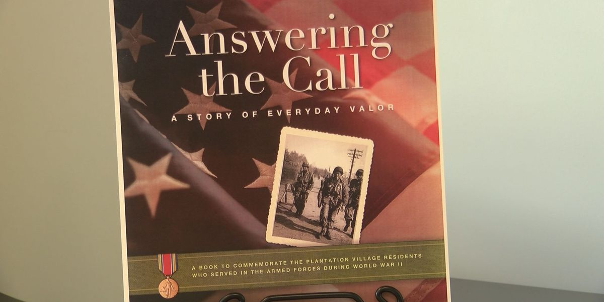 WWII veterans honored with commemorative book