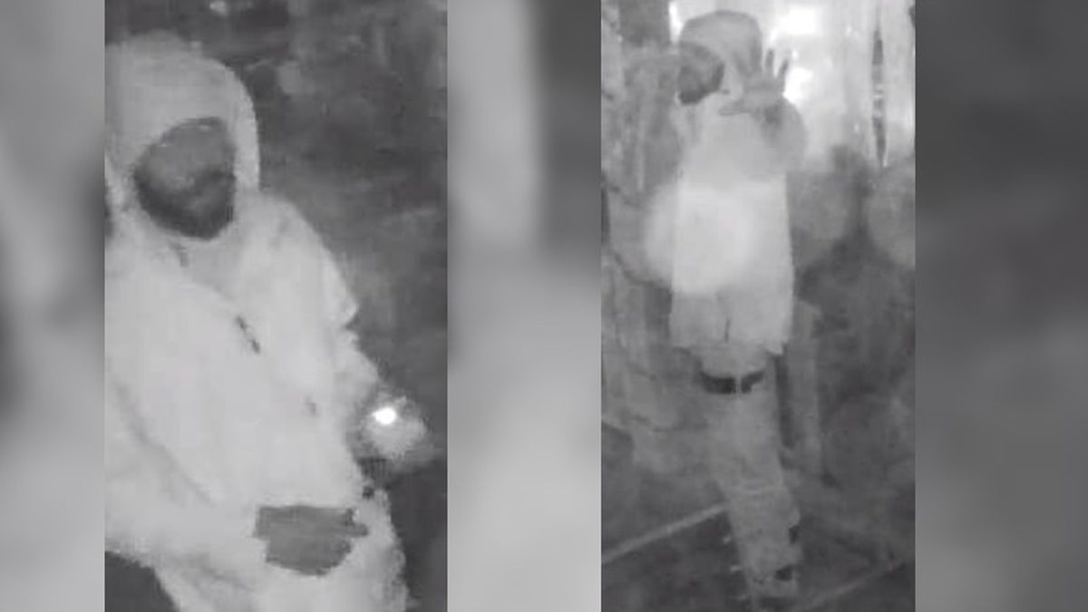 Wilmington Police searching for man who set Christmas tree ablaze in Downtown