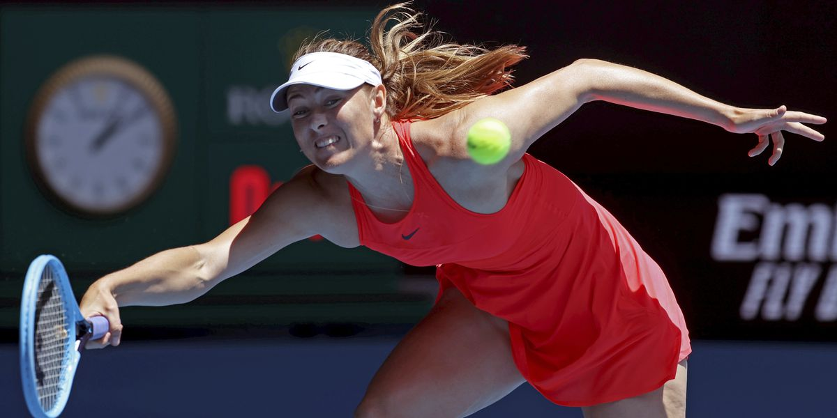 5-time major champ Maria Sharapova retires from tennis at 32