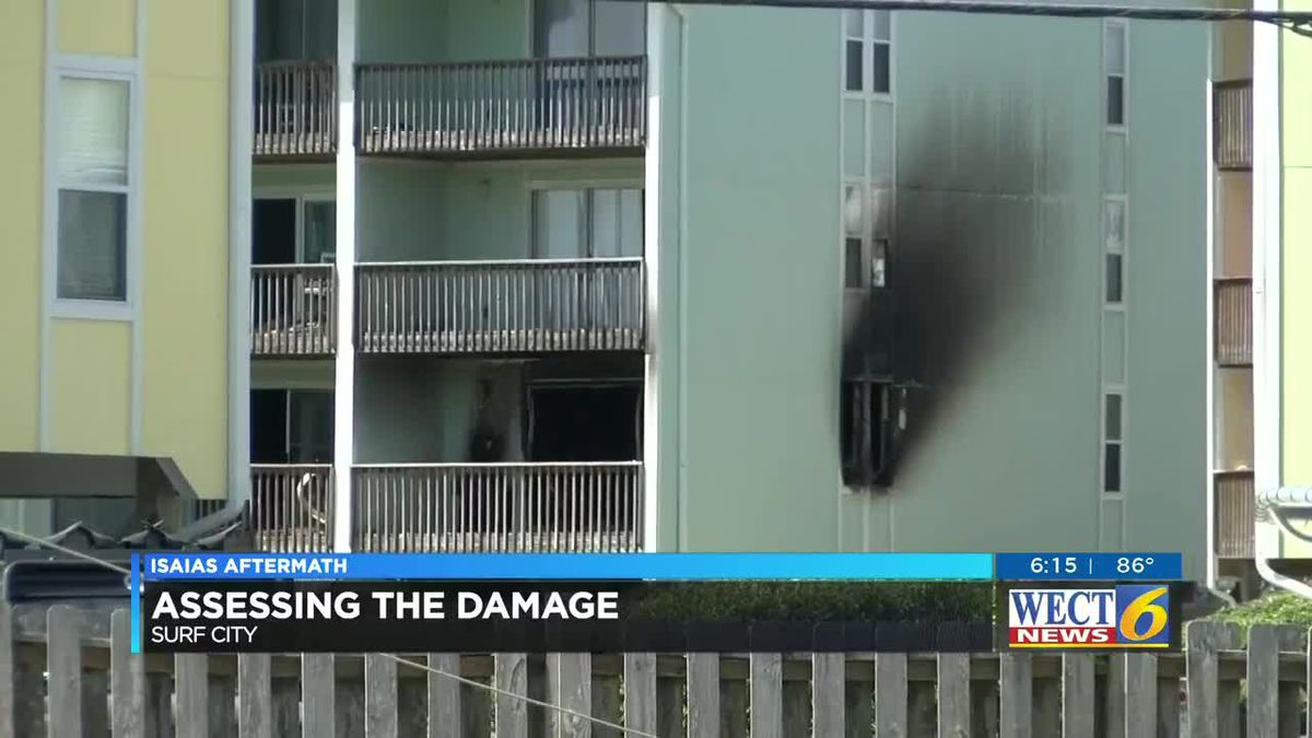 Surf City condo caught fire and displaced about 30 people