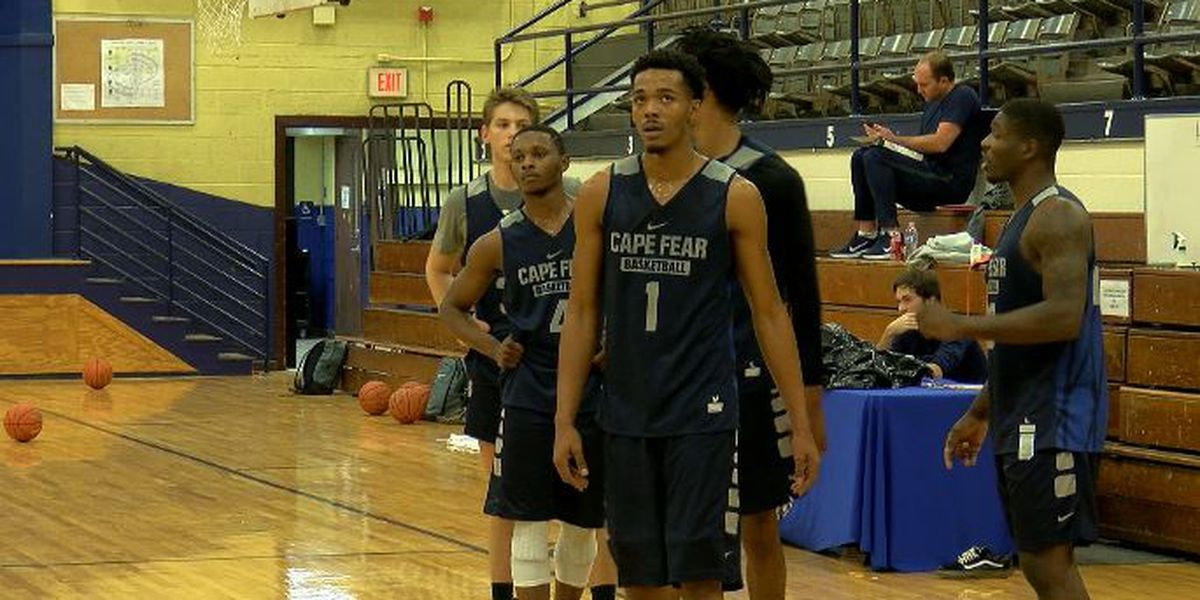 Cape Fear C.C. men's basketball making do without home court