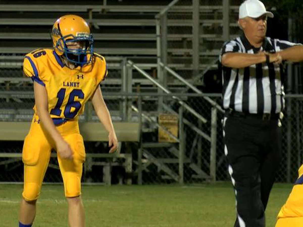 Laney Buccaneers kicker making history