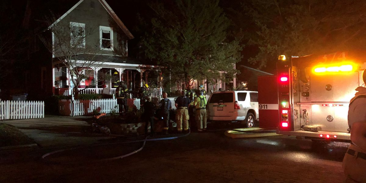 Woman suffers burns in Southport house fire