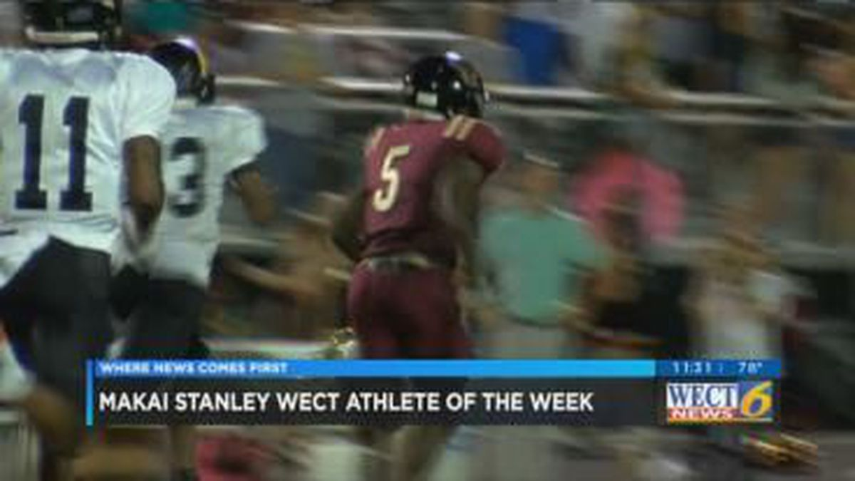 Ashley running back Makai Stanley named WECT Athlete of the Week