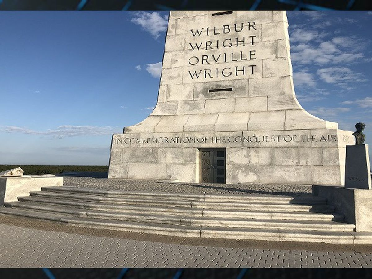 Orville Wright bust stolen from Wright Brothers National Memorial