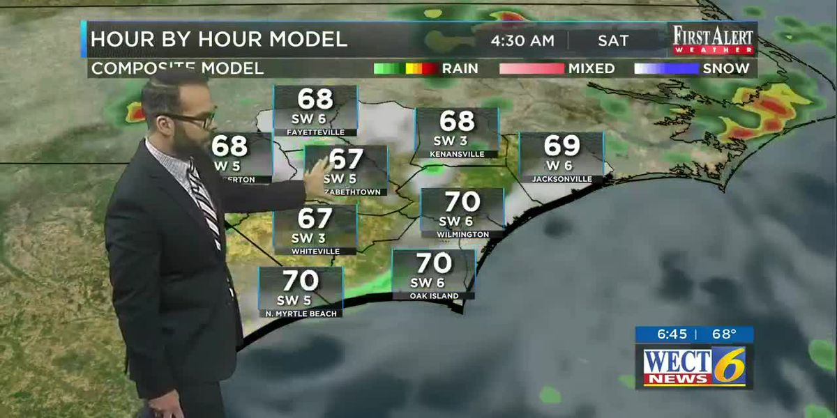 Your First Alert Forecast from Fri. morning, May 22, 2020